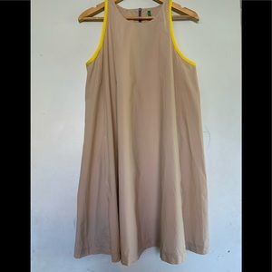 Benetton Trapeze poplin dress